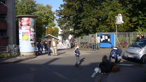 Eingang zum Stadion Apenrader Straße
