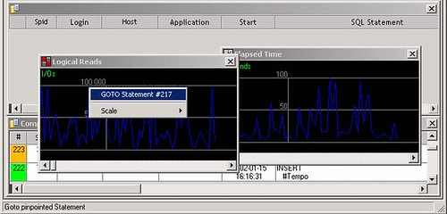 SQL Shot - Screen 3