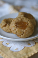 WW Cardamom-Ginger Thumbprint Cookies