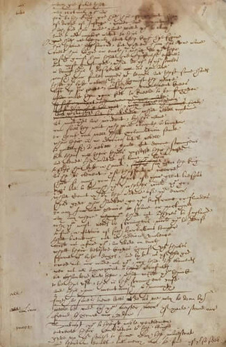 Is This Shakespeare's Writing?