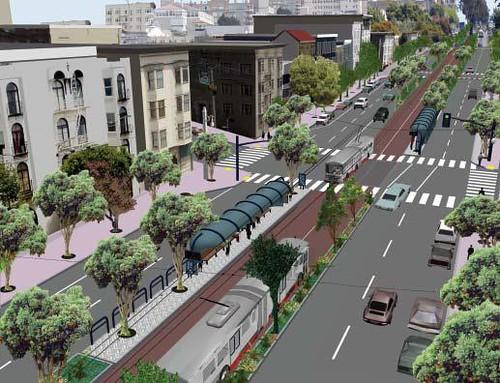 Van Ness BRT Mockup