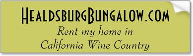 Rent my bungalow in California Wine Country : Healdsburg, CA