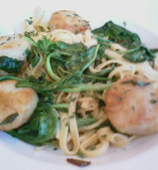 Scallops-Linguine