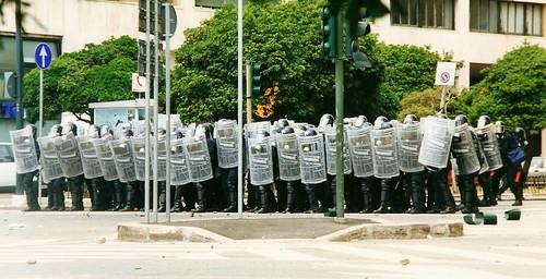 Foto di Valentina Perniciaro _le testuggini di Genova 2001_