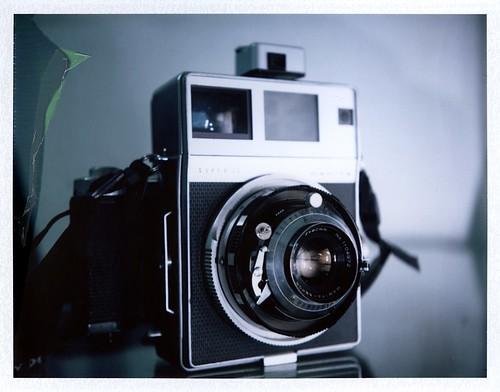 Mamiya Super 23 polaroid tribute by desevilla