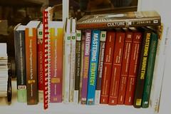 work bookshelf
