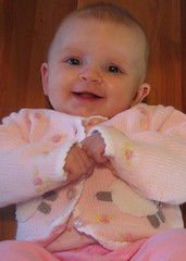 Photo of Claire at 3 months