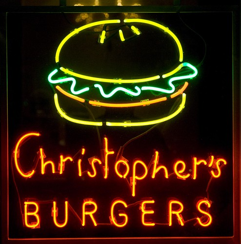 Christophers Burgers by Thomas Hawk