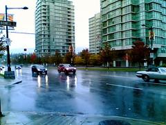 Rainy morning on Georgia St.
