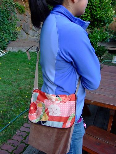 """""""temari"""" messenger bag"""