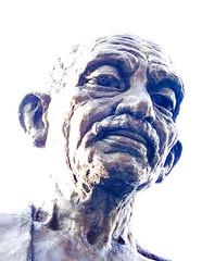 Mahatma Gandhi, Tavistock Square, Bloomsbury, ...