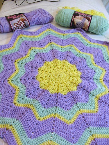 Beth's Blanket WIP1