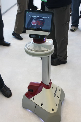Video and poll robot