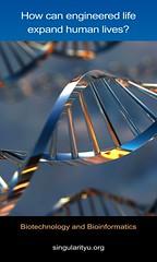 Singularity University Banner - Biotecnology a...