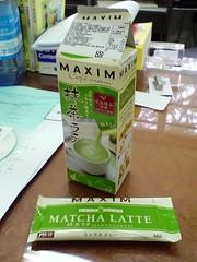 Maxim Matcha Latte