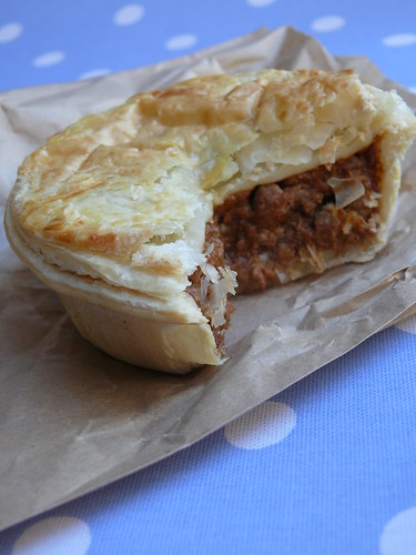 photo of meat pie