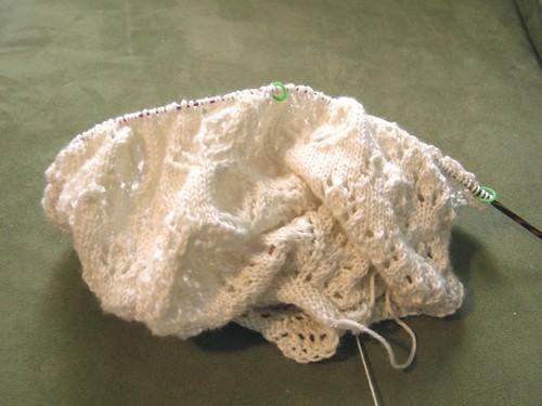 lump of lace