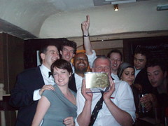A happy team with our Sony Gold