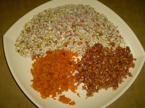 Finely Chopped Dry Fruits for fruit cake