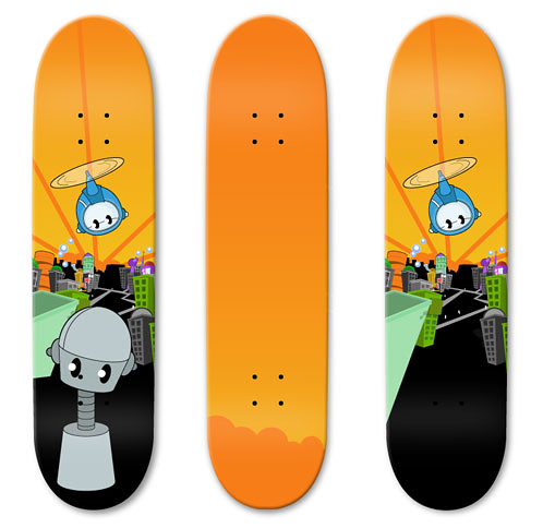 85+ Stylish Examples Of Skateboard Designs