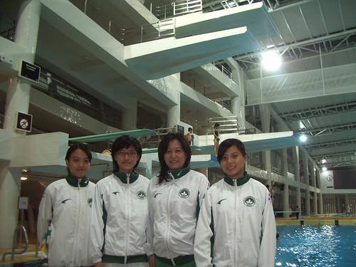 跳水大獎賽 – 美國站澳門代表隊