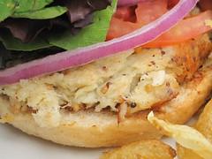 highland bakery - crab burger closest