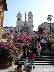 Spanish Steps by Megabeast