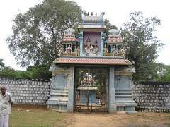 Temple Entrance from inside the temple