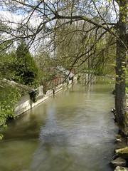 La rivière avant la crue