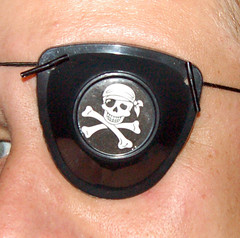 Astronomy Pirate Eyepatch.