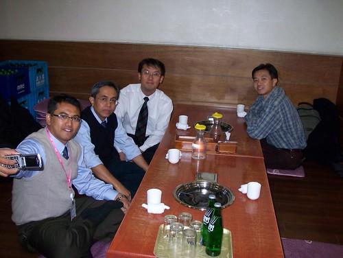 Dinner in Incheon