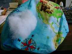 World Pillow 003