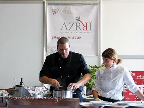 Chef Voljen in action