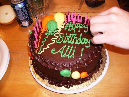 My cake!