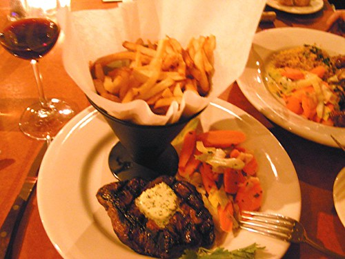 bistro zazou steak frites