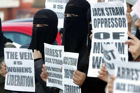 British Protestors for Religious Freedom