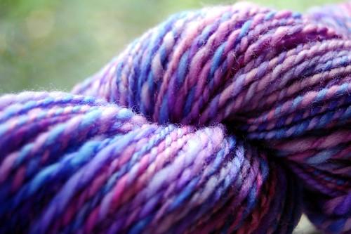 Plied handspun yarn