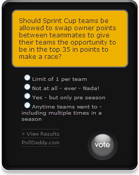 Points Switching Poll