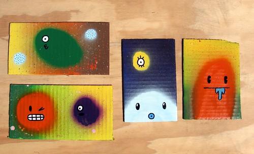 fast paintings #75-78