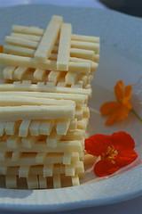 Cheese jenga