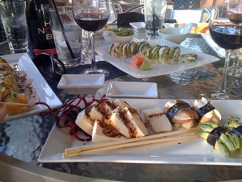 Sushi dinner