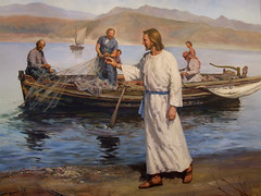 Jesus Collecting Disciples
