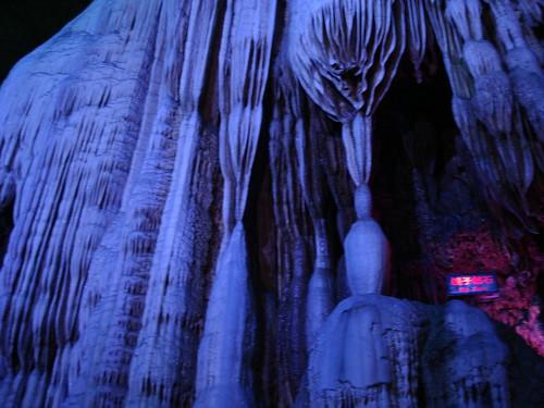 elegant stalactite formation