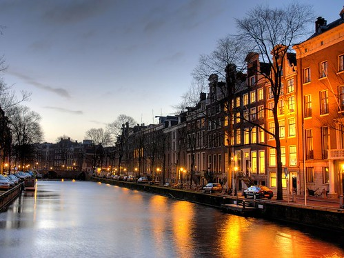 Herengracht at dawn