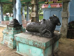 Nandhi and Bali peetam for Shiva