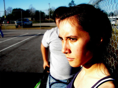 Kayleighs game face.