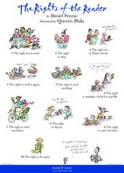 Quentin Blake on reading