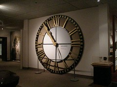 Clock from a courthouse