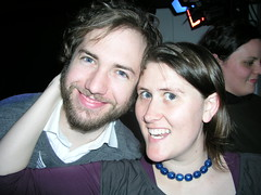 Paul and me at my work Christmas party