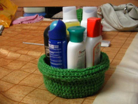 Rolled Brim Basket 2